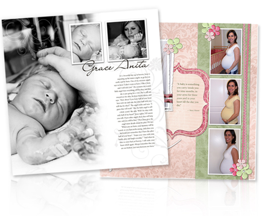 Hot Shots Baby Photo Book